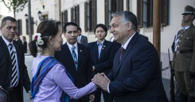 Orbán Myanmar's State Counsellor Aung San Suu Kyi