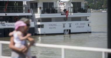 Viking Sigyn collided with a sightseeing boat that had 33 South Korean tourists on board and a crew of two Hungarians