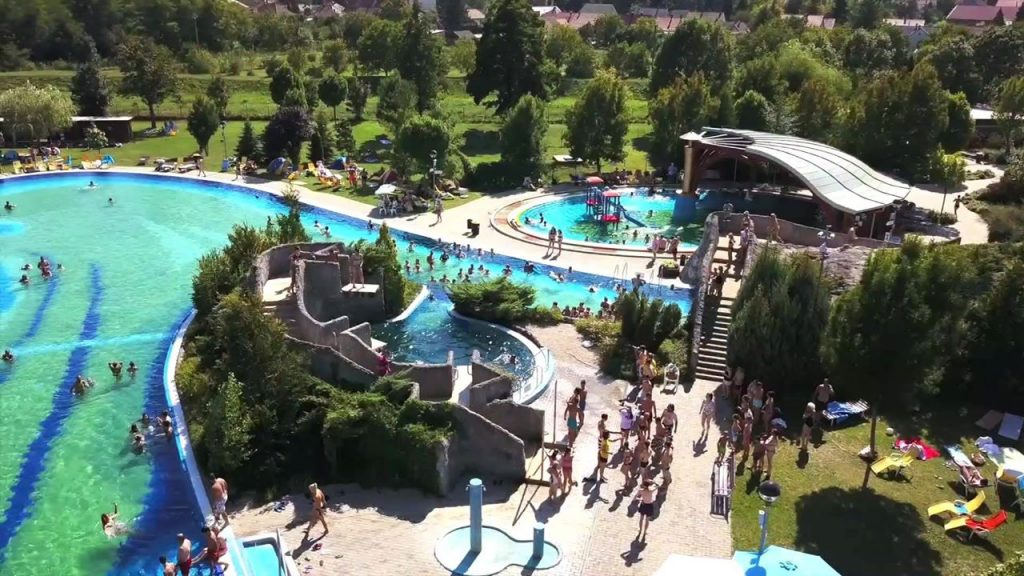 Virágfürdő, Kaposvár, aquapark