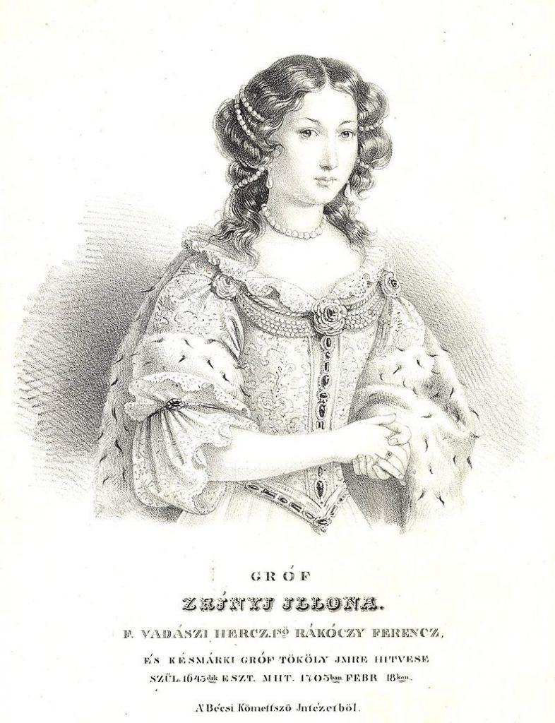 Ilona Zrínyi, heroine, Hungary