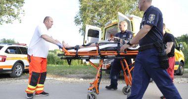 ambulance police hungary