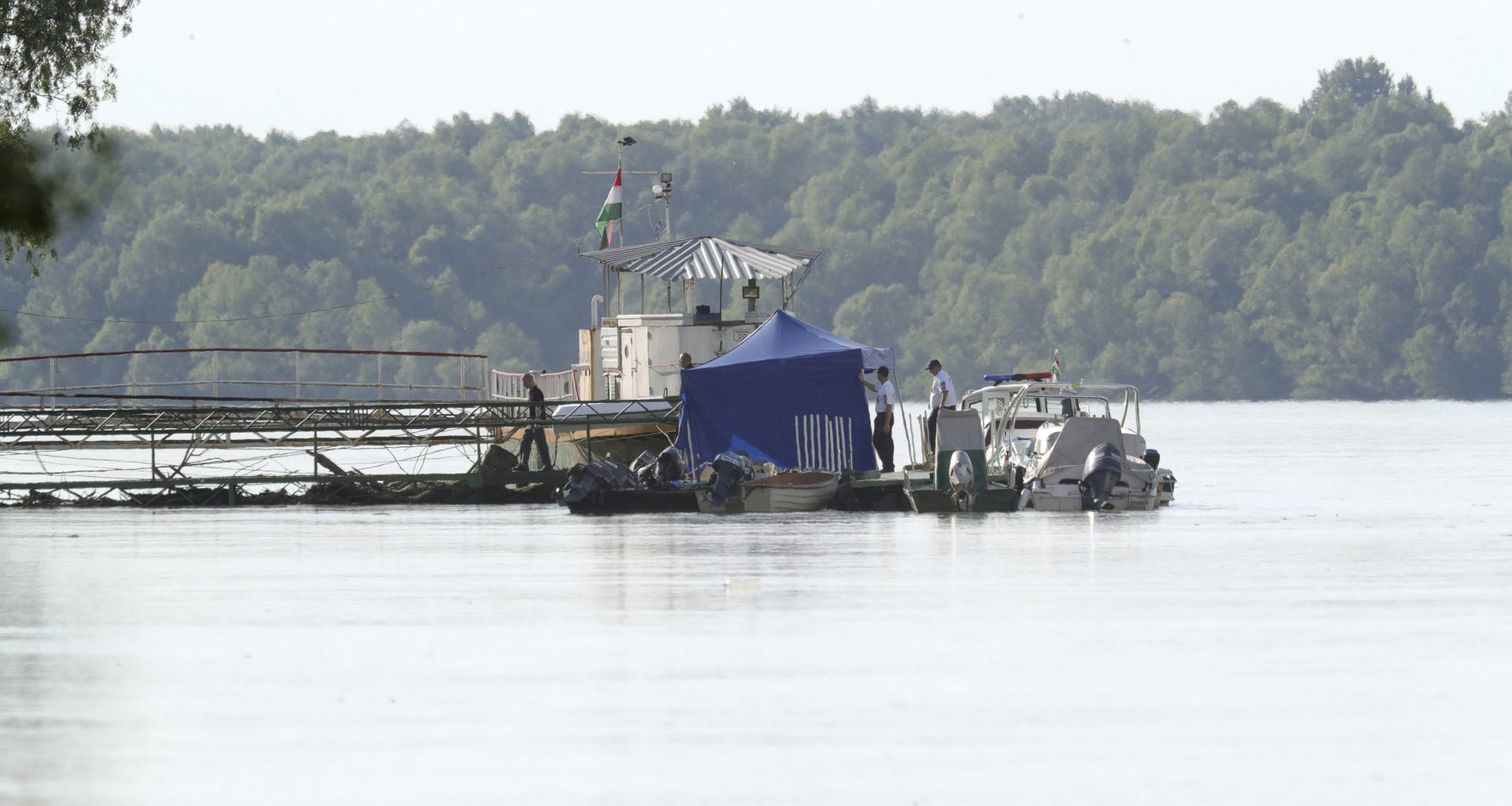 another body was lifted from the Danube