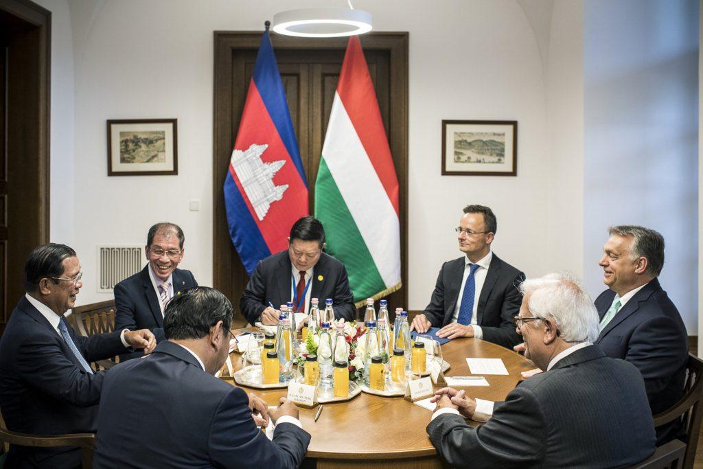 Cambodian foreign minister Prak Sokhonn
