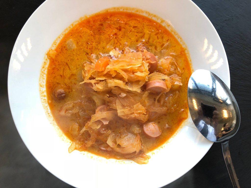 korhely soup, hangover soup