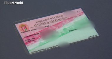 home address card