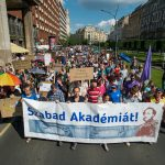 hungarian academy protest