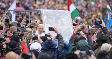 pope francis visit in romania
