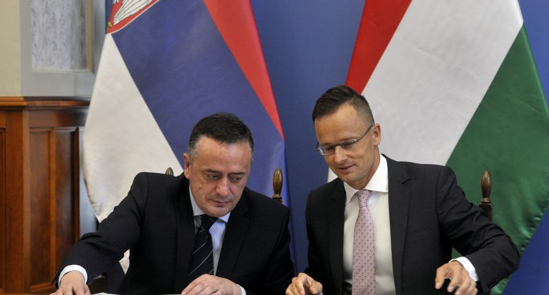 Hungary, Serbia agree to build gas interconnector