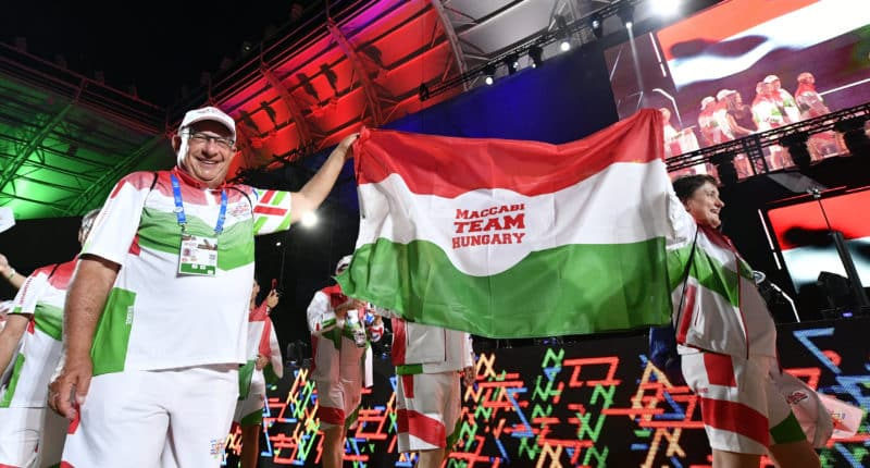 15th European Maccabi Games opened in Budapest