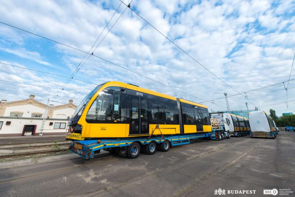 Budapest, tram, Hungary