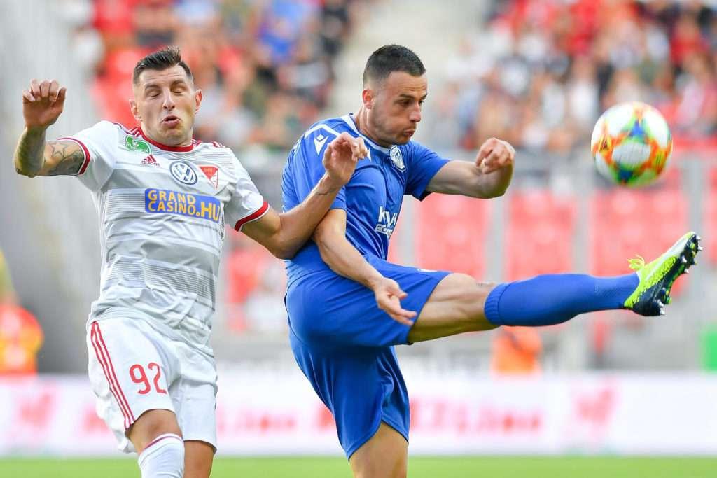 Europe League qualifier Debrecen defeats Albanian Kukesi