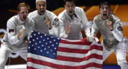 Fencing - Men's foil team - United States wins gold - Photos