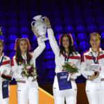 Fencing - Women's sabre team - Russia wins gold - Photos