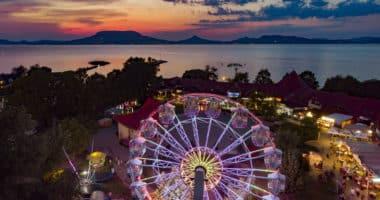 Ferris wheel at the Lake Balaton