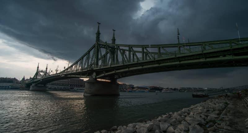 Szabadság híd freedom bridge Budapest Hungary
