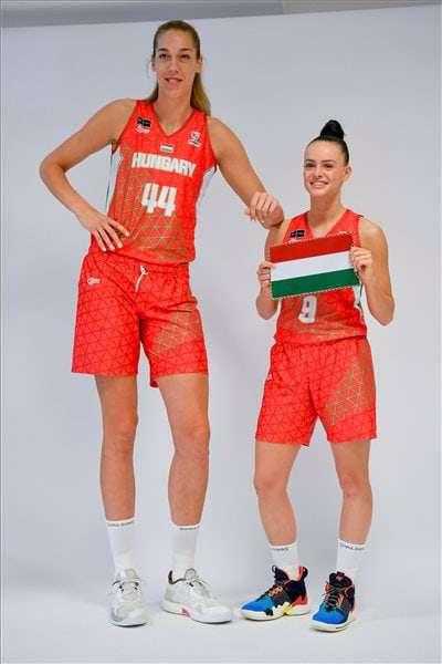Hungary girl basketball British