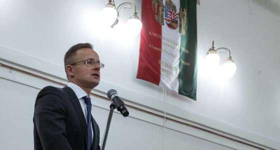 Ukraine Hungarian FM