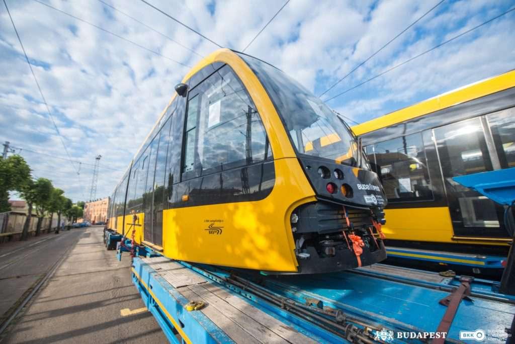 Hungary, Budapest, tram