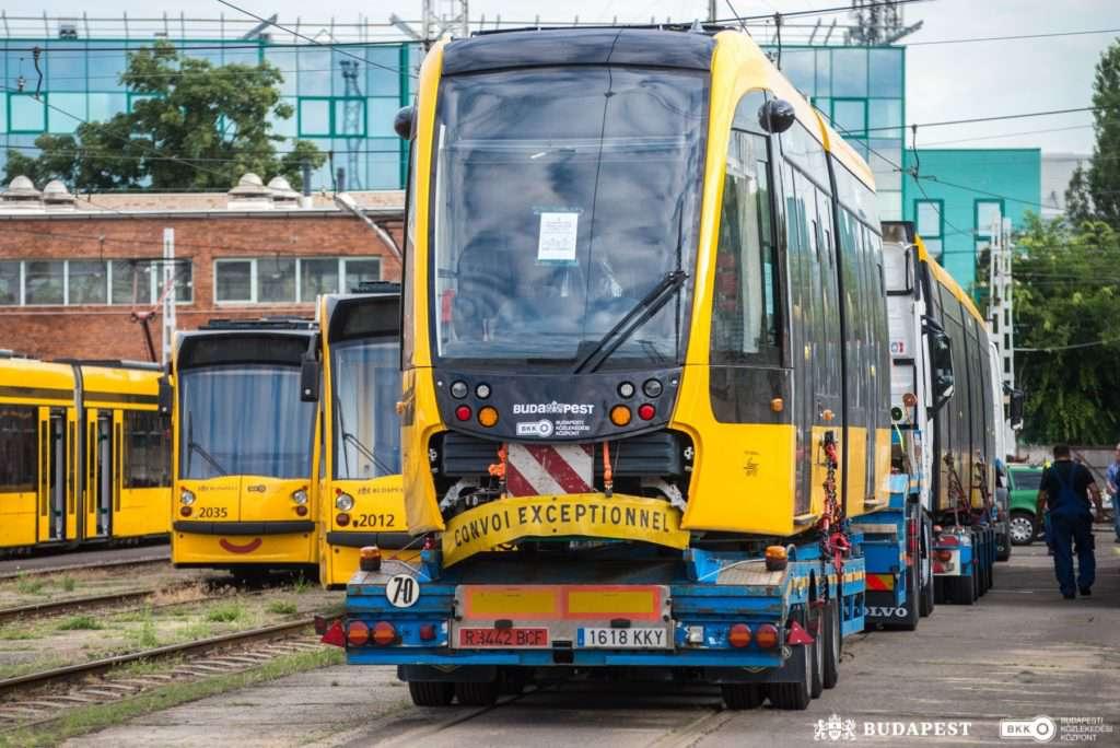 Hungary, tram, Budapest