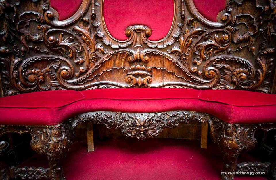 Károlyi-Csekonics Palace, Hungary, furniture
