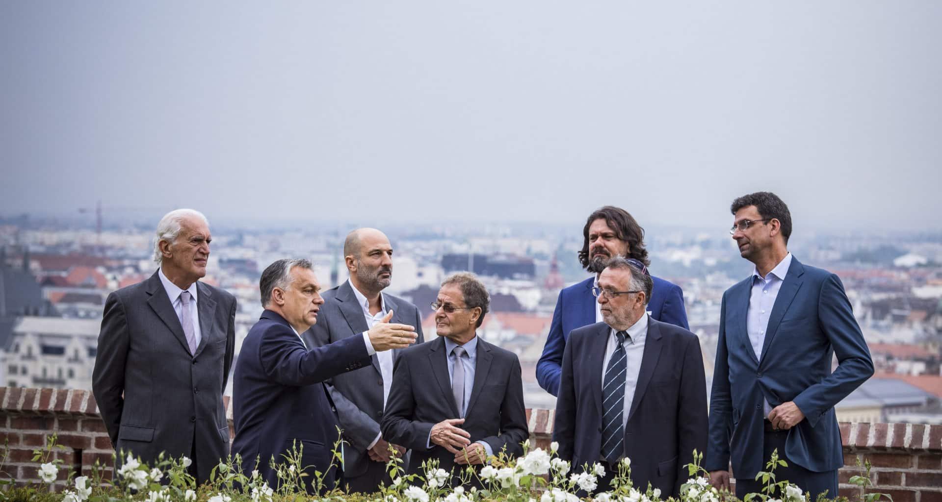 PM-Orbán-meets-Maccabi-Games-representatives