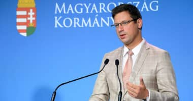 Prime Minister's Office chief Gergely Gulyas