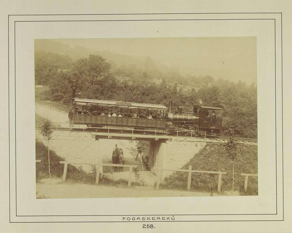 cogwheel railway, Budapest, Hungary