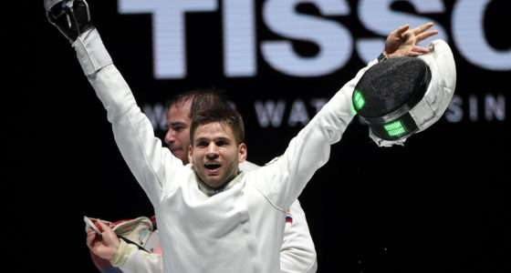 fencing world champion