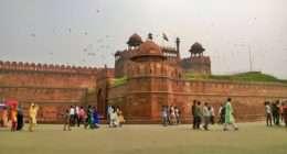 redfort delhi india