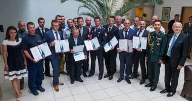 ship collision divers award