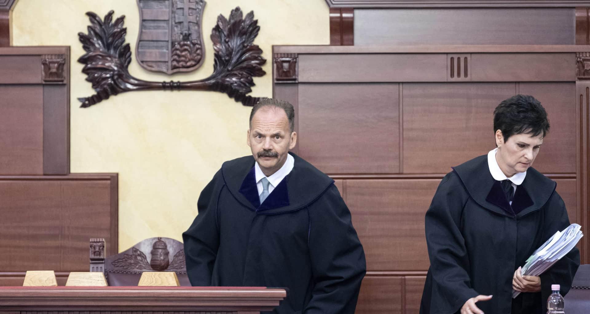 the Kuria, Hungary's supreme court