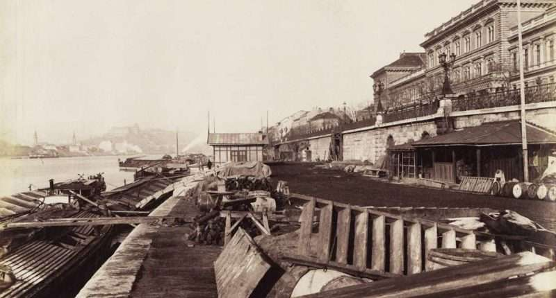 tunnels in budapest 1894