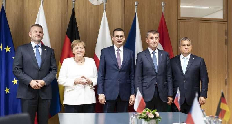 visegrád four germany
