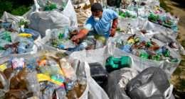 worker tisza rubbish