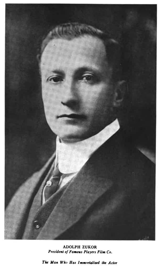 Adolph Zukor, Hungary, Hollywood