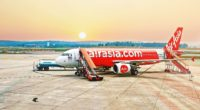 AirAsiaX airplane