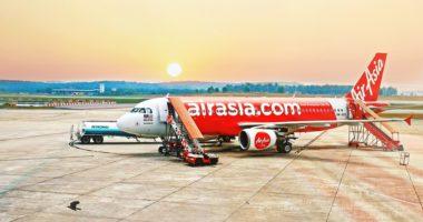 AirAsiaX airplane