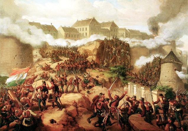 1849 - Buda ostroma