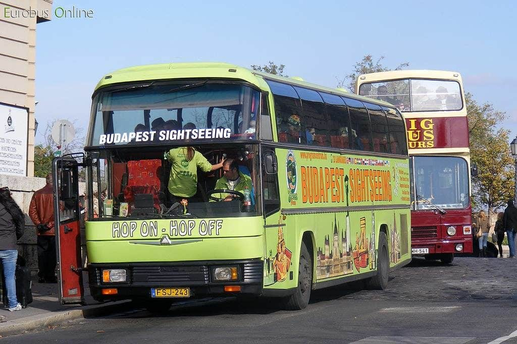 Budapest tourist buses