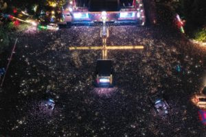 Sziget from above