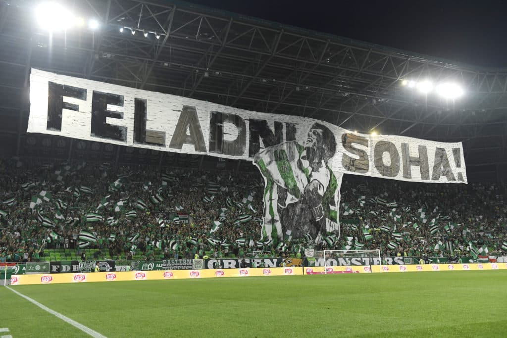 ferencváros supporters fans Ferencváros reach Europa League group stage