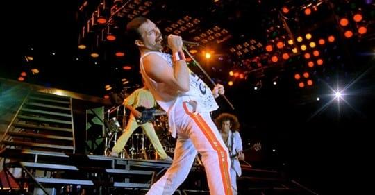 Freddie Mercury a Népstadionban