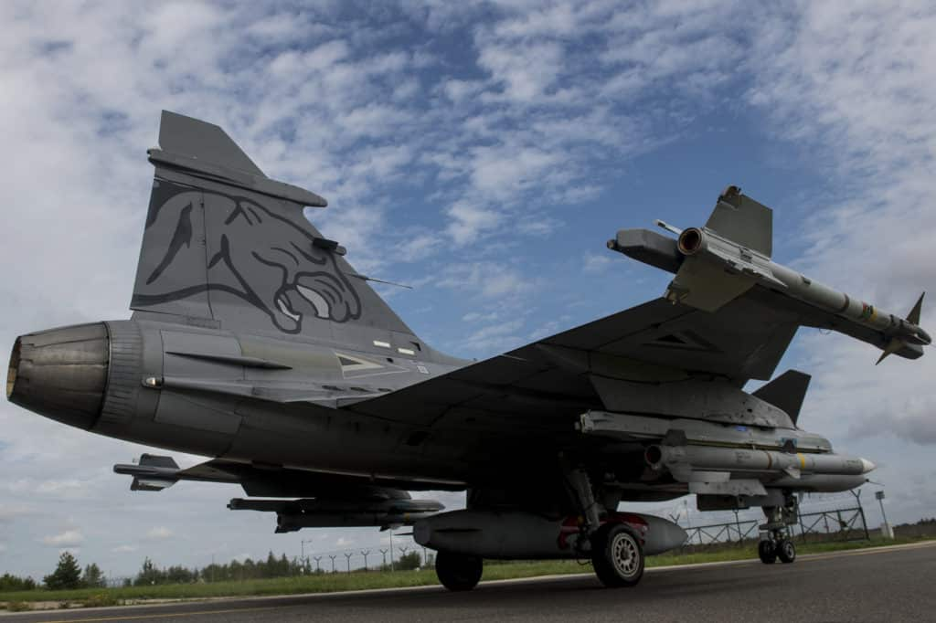 Hungary Gripens Baltic Regions