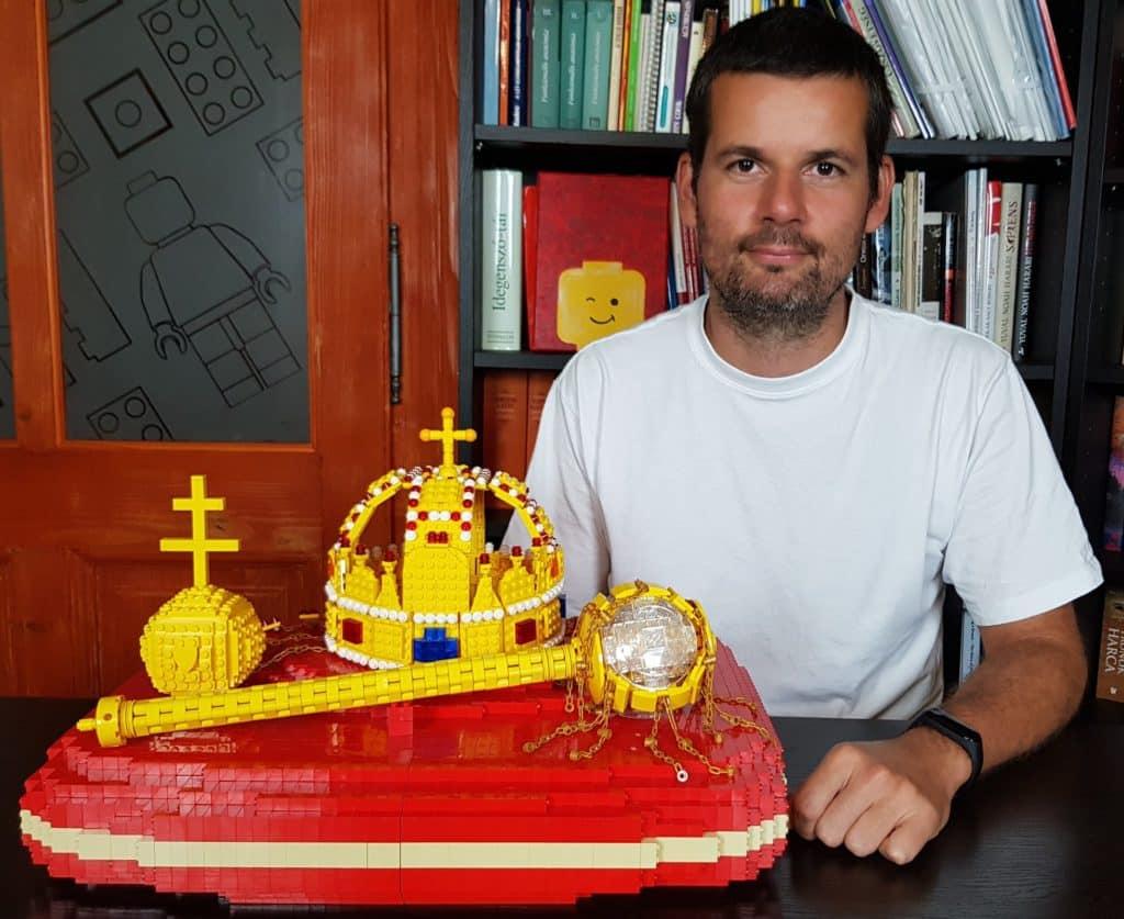 Lego, crown, Hungary