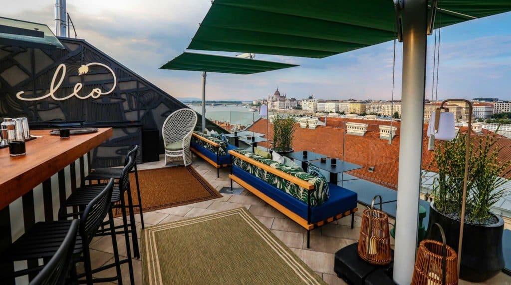 Leo bar, Budapest, Hungary, bar