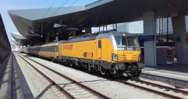 Regiojet train