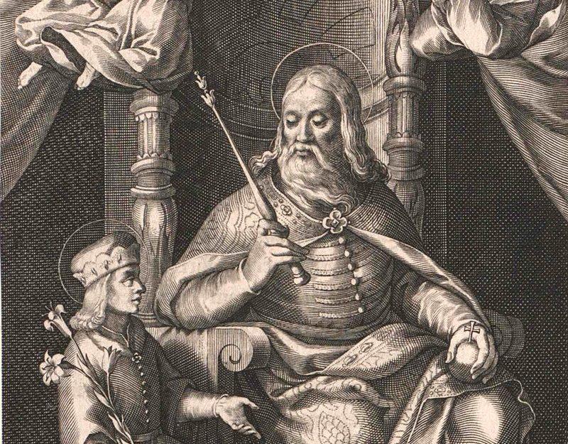 Saint Stephen and Imre