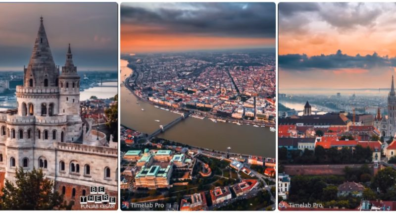 budapest collage