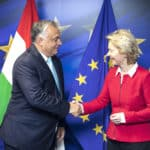 Von der Leyen meets with Orbán in Brussels