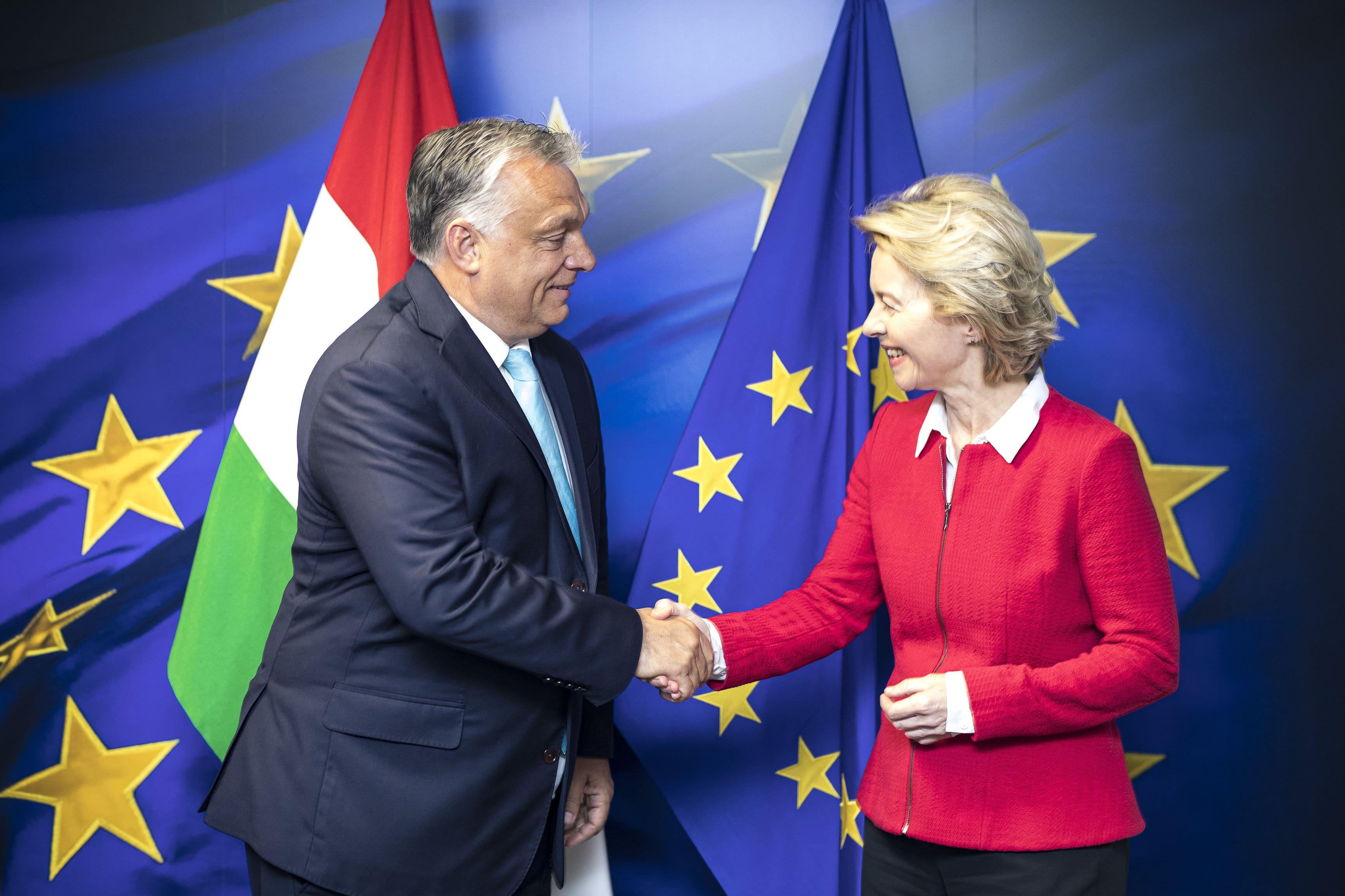 Von der Leyen meets with Orbán in Brussels - UPDATE